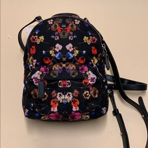 Givenchy Tech Twill Nano Floral Print Backpack